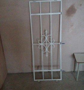Решетка на окно, 2 шт. 50,5х145; 54х147см.