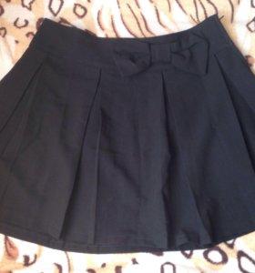 Новая чёрная юбочка на девочку (девушку)