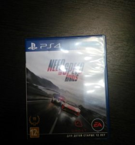 Диск ps4 Need for speed Rivals