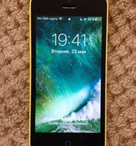 iPhone 5c 16 gb состояние отличное