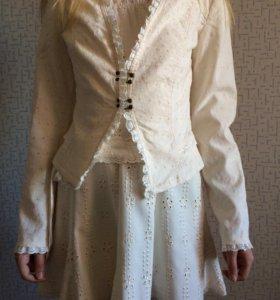 Платье, пиджак
