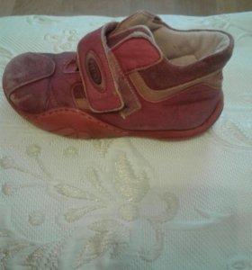 Дет ботиночки осень 27раз
