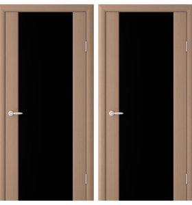 Двери экошпон сан ремо янтарный кипарис триплекс
