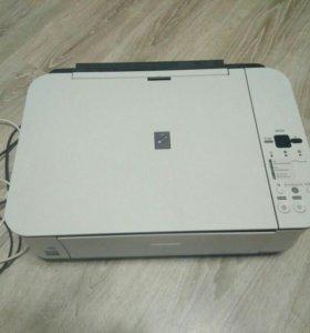 Canon MP250 Цветной принтер сканер МФУ