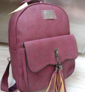 Рюкзак с бахромой
