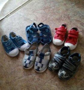 Обувь пакетом р.27-28