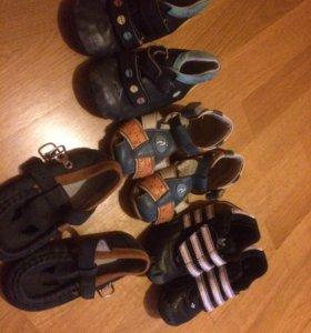 Обувь детская на годик. На мальчика