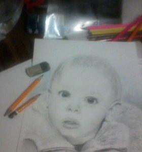 Рисую по фото...