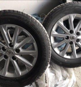 Колеса на Toyota Camry