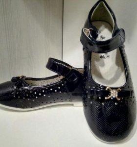 Новые туфли р-р 30