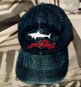 Кепка джинсовая Paul & Shark новая