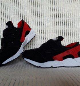 Замшевые кроссовочки