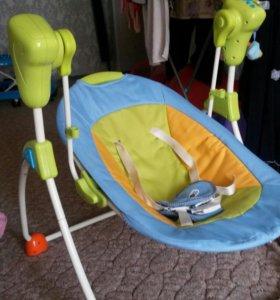 Электрокачеля для новорожденного