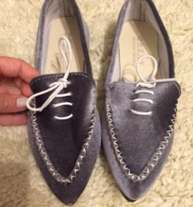 ботинки вельветовые