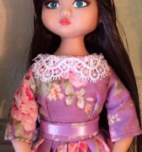 Кукла авторская из полимерной глины