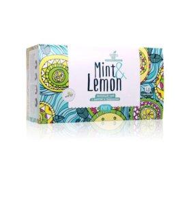 Чай мята и лимон 🍋