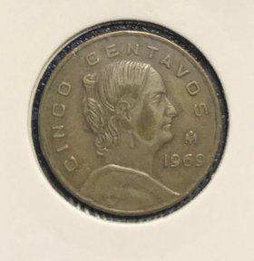 Монеты Мексики