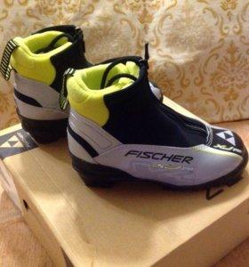 Новые! Лыжные ботинки FISCHER sprint р. 31