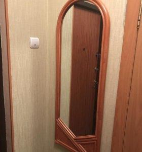 Зеркало настенное ( ротанг)