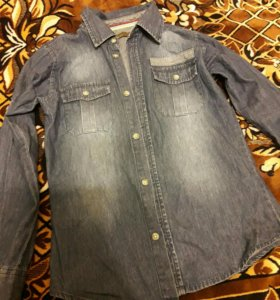 Рубашка,лекая джинса
