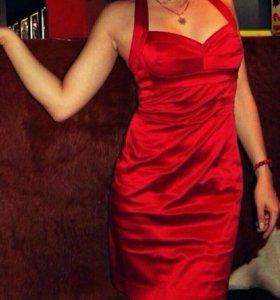 😍Атласное платье Bebe