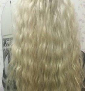 Наращивание волос капсулы