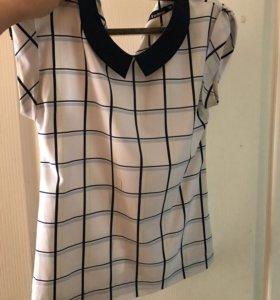 Блузка с коротким рукавом (xs/s)