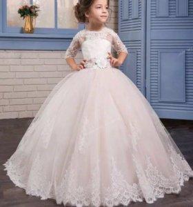 Пышное платье на выпускной или праздник