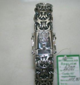 Серебряный браслет Рамзес