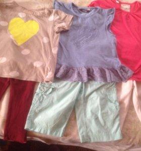 Одежда на девочку 92-98 пакетом