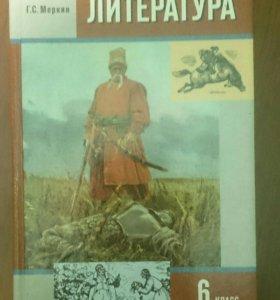 Учебники по Литературе 1 и 2 часть 6 класс