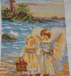 Ангелы на берегу моря