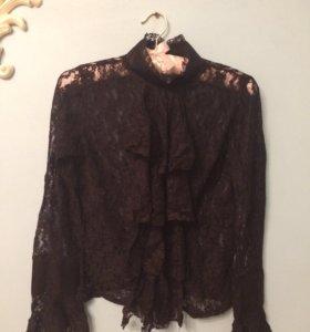 Гипюровая блуза 42-44