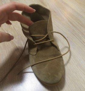 Демисезонные ботинки Topshop
