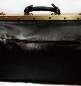 Дорожная сумка-саквояж (кожа) Francesco Molinari