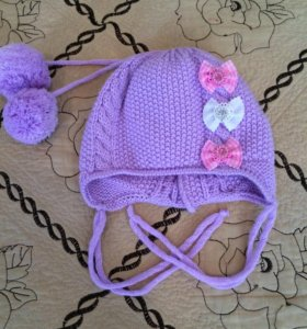 Детские шапочки для девочки
