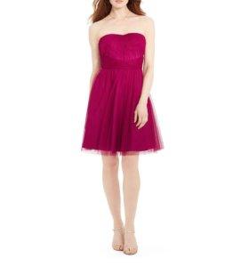 шифоновое вечернее платье Lauren Ralph Lauren