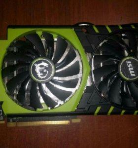Nvidia Gtx 970 Msi 100me 4gb (гарантия)