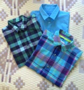 Рубашки для мальчика с коротким рукавом