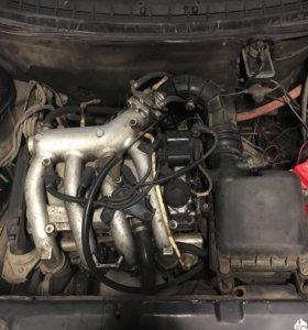 Двигатель 16v с коробкой ,проводкой ,и мозгами.