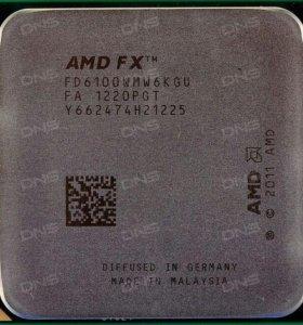 Процессор AMD FX 6100 3.3 Ггц 6 ядер
