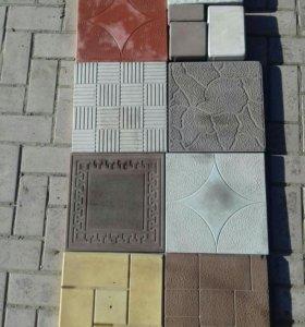 Тротуарная плитка,бордюры и блоки от производителя