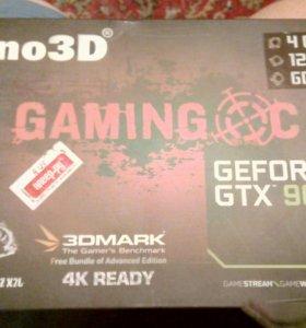 Видеокарта GTX 960 4gb