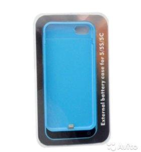 Чехол-аккумулятор для IPhone 5/c/s
