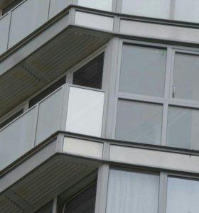 Монтаж балконов и лоджий, отделка, утепление.