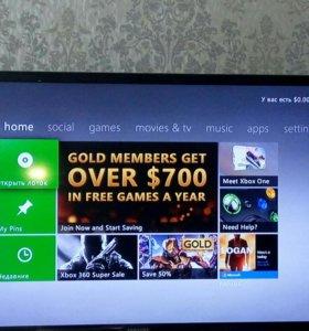 Xbox 360  2 геймпада