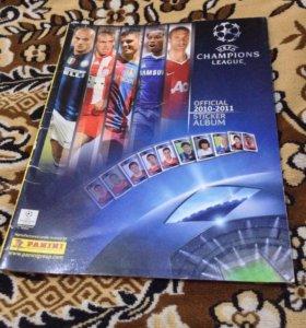 Альбом для наклеек UEFA Champions League 2010-2011