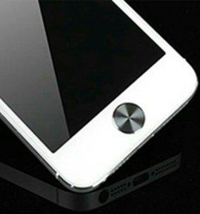 Кнопка-наклейка для iPhone 4 4S 5 5s.
