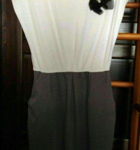 Платье 42 44 трикотажное