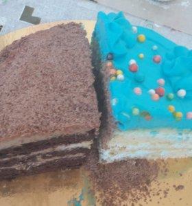 Домашняя выпечка, тортики, капкейки, зефир